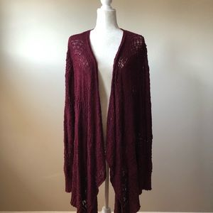 American Eagle Loose Knit Open Front Cardigan XL